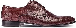 Deery Hakiki Deri Kırmızı Kroko Klasik Erkek Ayakkabı - 00479MKRMM02