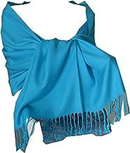 turquoise pashmina shawl