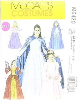 McCall's M6817 Women's Fairy Tale Princess Dress Halloween Costume Sewing Pattern, Sizes S-L