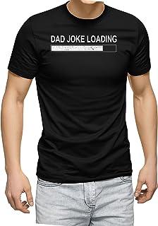 تيشيرت رجالي مطبوع عليه Dad Joke Loading من إنكيزي