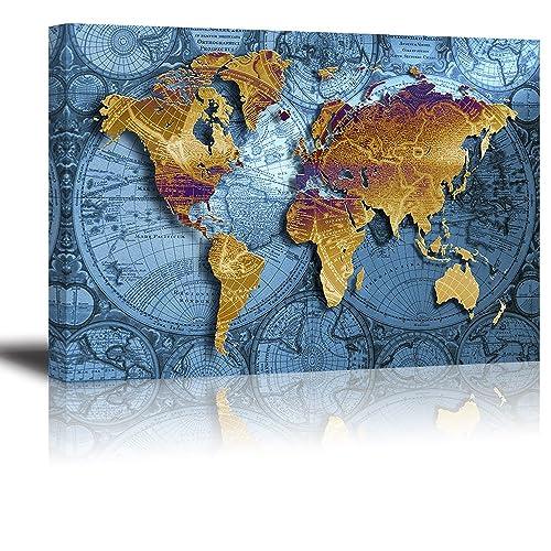 nautical sailing map of the world Nautical Maps Amazon Com