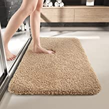 DEXI Bathroom Rug Mat, 24x36, Extra Soft and Absorbent Bath Rugs, Machine Wash Dry, Non-Slip Carpet Mat for Tub, Shower, a...