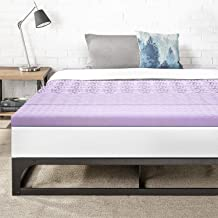 Best Price Mattress King 3 Inch 5-Zone Memory Foam Bed Topper with Lavender Infused Cooling Mattress Pad
