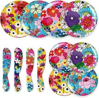 French Bull 12-Piece Dinnerware Set - Garden Floral