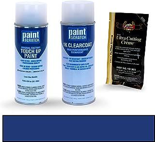 PAINTSCRATCH Laser Blue Metallic A59 for 2011 Mini Cooper - Touch Up Paint Spray Can Kit - Original Factory OEM Automotive Paint - Color Match Guaranteed