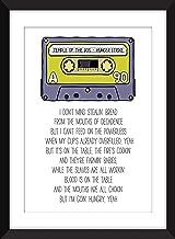 Temple of the Dog - Hunger Strike Lyrics, Unframed Print