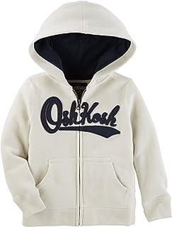 OshKosh B'Gosh Baby Boys' Full Zip Logo Hoodie