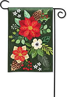 BreezeArt Studio M Boho Christmas Garden Flag - Premium Quality, 12.5 x 18 Inches