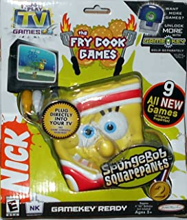 Jakks Pacific Spongebob Squarepants: Plug & Play TV Games II