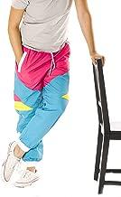 Funny Guy Mugs 80s & 90s Retro Neon Windbreaker Pants - Convertible Shorts Or Pants