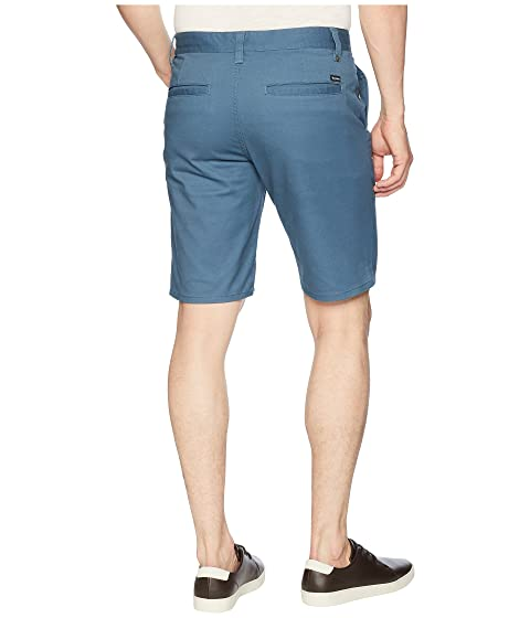 II Hemmed Shorts Blue Dusty Toil Brixton ERqnp5R