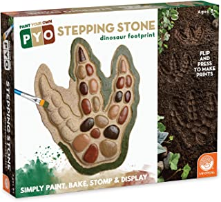 MindWare Paint Your Own Stepping Stone: Dinosaur Footprint