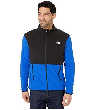 The North Face TKA Glacier Full Zip Jacket (TNF Blue/TNF Black) Men