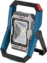 Bosch Professional 18V-1900 Led-bouwlamp, 18 V systeem, accu, maximaal Helderheid 1900 lumen, zonder batterijen en oplade...