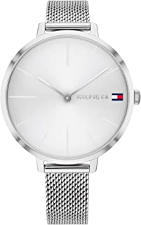 Tommy Hilfiger Women'S White Dial Stainless Steel Watch - 1782163