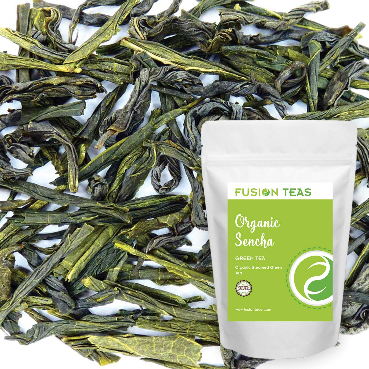 Organic Sencha Steamed Green Tea - Gourmet Pure Loose Leaf Very Fixed price for sale popular