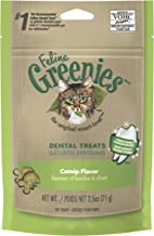 Greenies Catnip Flavor Dental Cat Treat, Adult, 71g