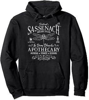 Apothicaire Sassenach Outlander | Libellule Cadeau Écossais Sweat à Capuche