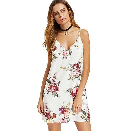 1514fd43d03 Floral Cami Dress: Amazon.com