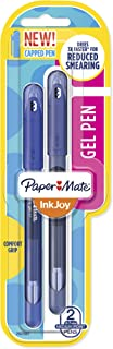 Paper Mate InkJoy Gel Pens Medium Point (0.7mm) Capped, 2 Count, Blue Assorted (2022987)