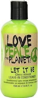 Tigi Love, Peace & The Planet Let It Be Cherry Almond Leave-In Conditioner - 250ml/8.45oz