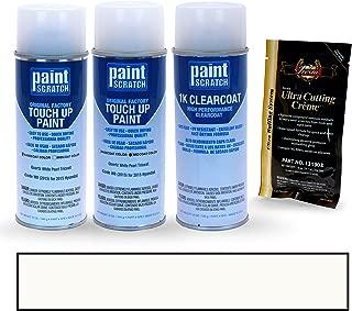 PAINTSCRATCH Quartz White Pearl Tricoat W8 (2015) for 2015 Hyundai Sonata - Touch Up Paint Spray Can Kit - Original Factory OEM Automotive Paint - Color Match Guaranteed