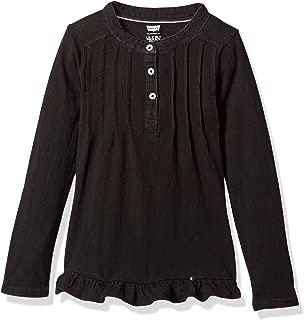 Girls' Long Sleeve Henley Shirt
