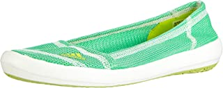 adidas Boat Slip-On Sleek Womens Trainers/Water Shoes - Green