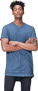 Marca Amazon - find. Camiseta Larga Hombre