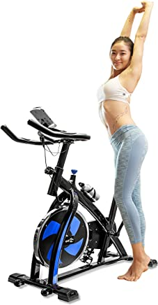 V-FIRE Stationary Indoor Cycling Fitness Bike for Cardio Workout and Training