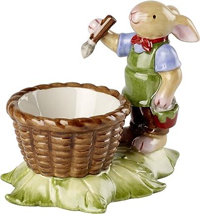 "Villeroy & Boch Bunny Family Eierbecher ""Hase"", 10x6x8 cm, Porzellan, Weiß/Bunt - preisvergleich"