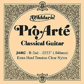 D'Addario Pro-Arte J4402 Seconde Corde seule en nylon pour guitare classique Très dur