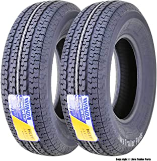 2 New WINDA Trailer Tires ST 225/75R15 10PR Load Range E w/featured Scuff Gurard
