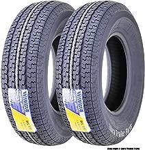 2 Premium Freedom Hauler Trailer Tire ST225//75R15 Radial 10PR Load Range E Steel Belted