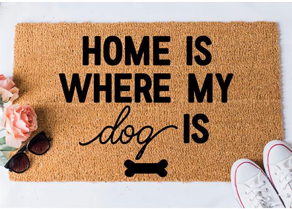 Home Dog Doormat Dog Doormat Funny Doormat Funny