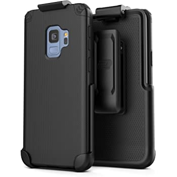 Fits w Hybrid Case on FYL Belt Pouch Holster w Clip for Samsung Galaxy Core Prime