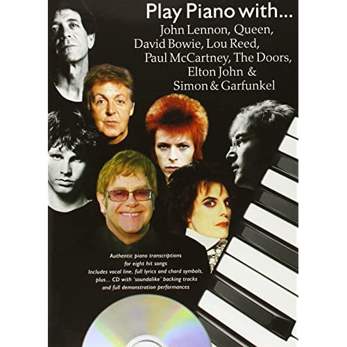 Play Piano With...John Lennon, Queen, David Bowie, Lou Reed