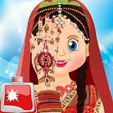 インドのブライダルスパサロン:女の子のための結婚式のサロンの無料試合、花嫁のスパ、セレブの結婚式のサロン