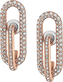 Iconic Pave Link Earrings