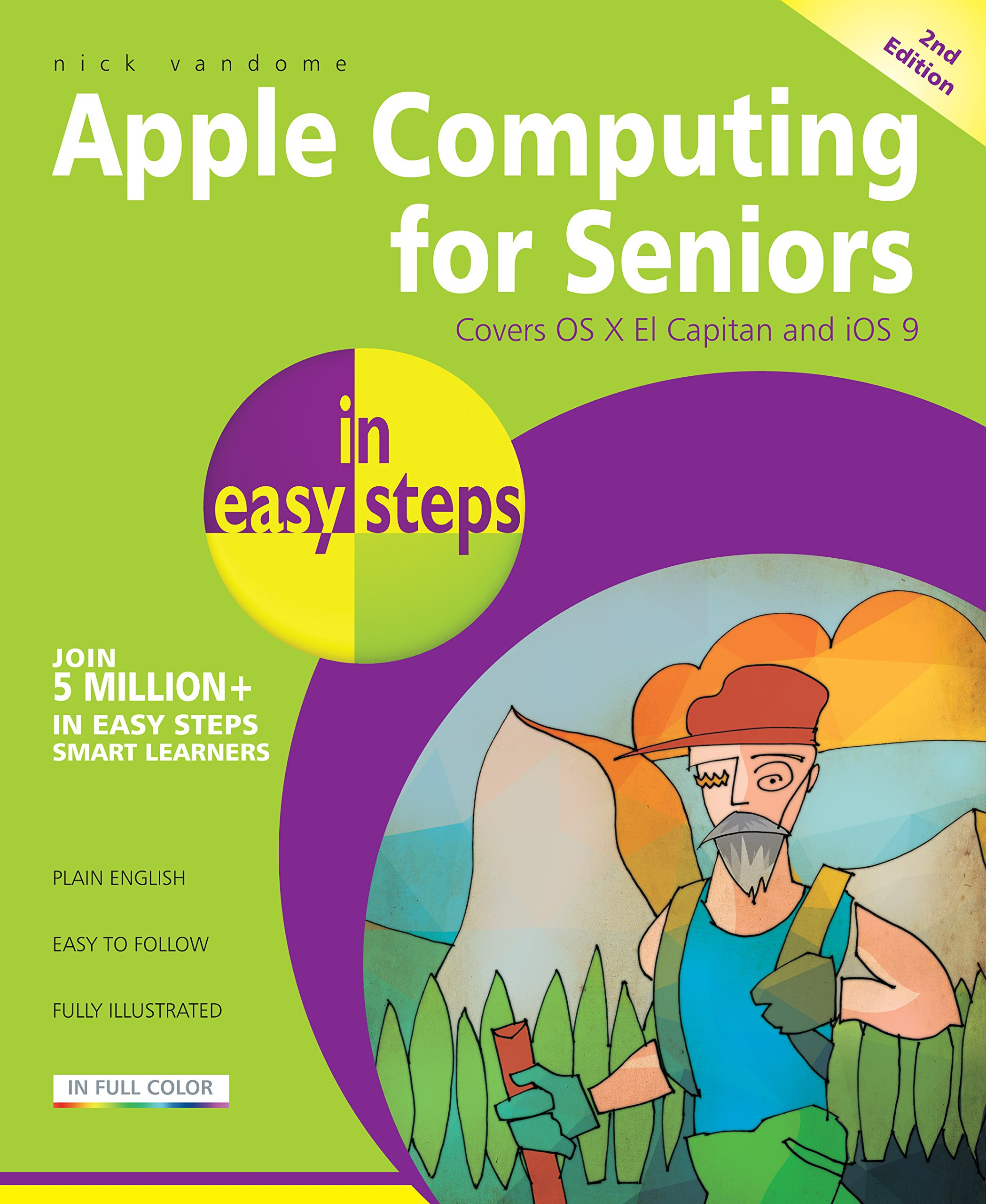 Image OfApple Computing For Seniors In Easy Steps, 2nd Edition (English Edition)