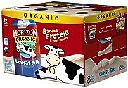 Horizon Organic Low Fat Milk, Plain, 8 Ounce (Pack of 12), Single Serve, Shelf Stable Organic Lowfat