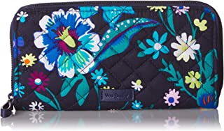 Vera Bradley womens Iconic Rfid Georgia Wallet, Signature Cotton Multi Size: One Size