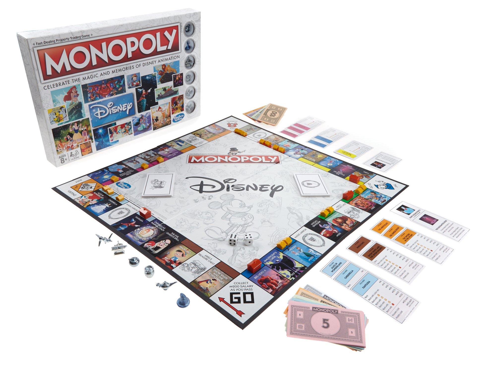 Disney Animation Edition Monopoly: Amazon.es: Juguetes y juegos