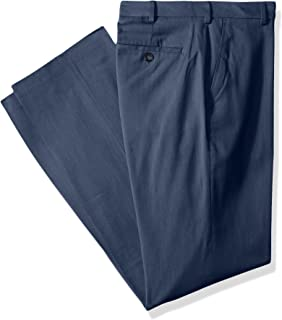 Van Heusen Men's Big and Tall Air Straight Fit Flat Front Dress Pant
