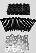 CP3 Inc 72-Piece 24-Sets Pegboard Mounting Kit w/24 Patent Pending Spacers Screws and Washers Best Kit Available