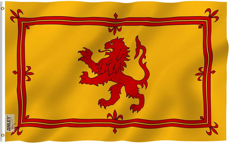 Anley Fly Breeze 3x5 Free shipping on posting reviews Foot Scotland Vivid Lion Columbus Mall Flag Rampant - Col