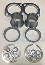 Exhaust Installation Kit with Power Torque Cones for Harley Big Twin EVO, Twin Cam, Sportster Models