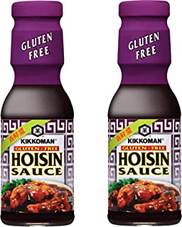 Kikkoman Gluten Free Hoisin Sauce, 13.2 Ounce (Pack of 2)