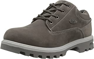 Lugz Men's Empire Lo WR Fashion Boot, Charcoal/Grey, 8.5 3E US