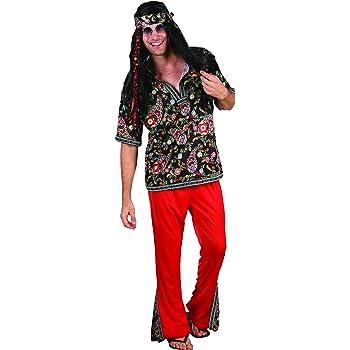 Generique - Disfraz de Hippie para Hombre: Amazon.es: Juguetes y ...